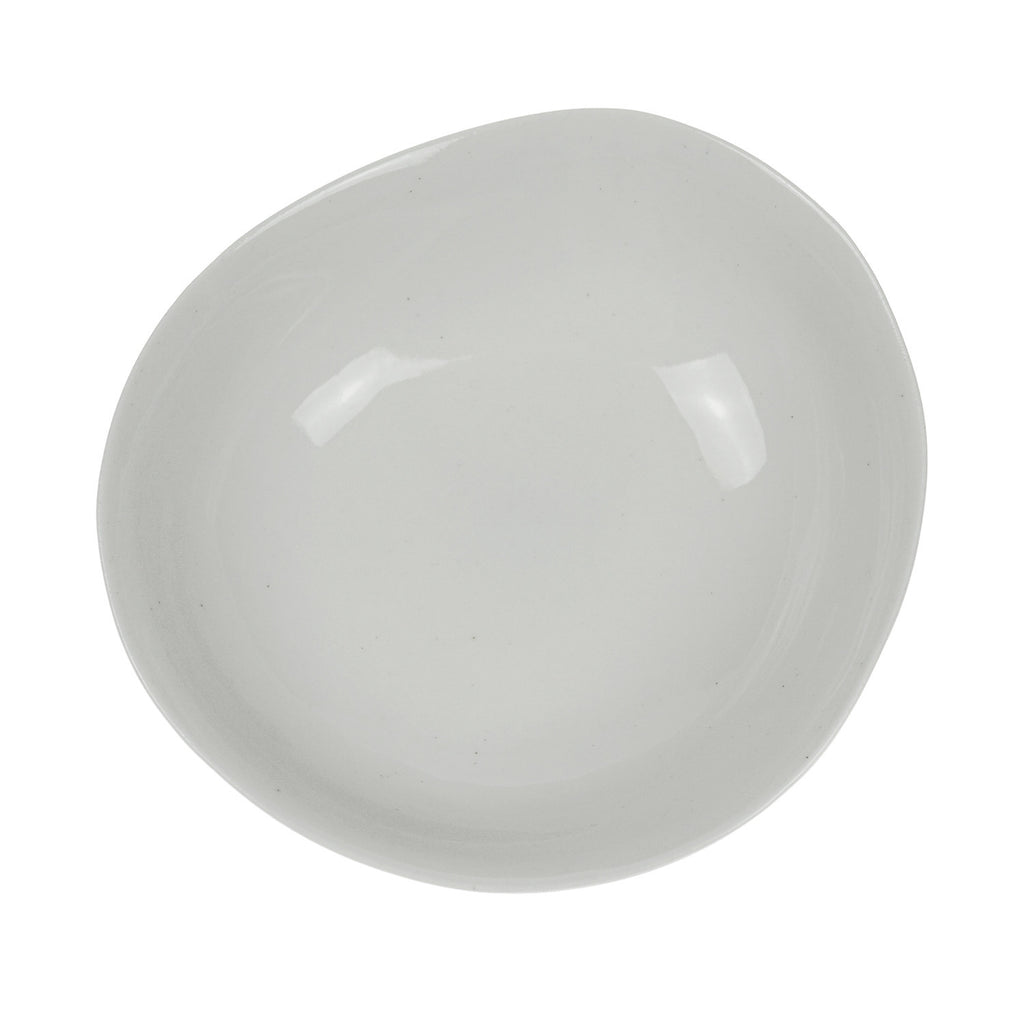 Small Oval Bowl in White (Eucalypt Range)