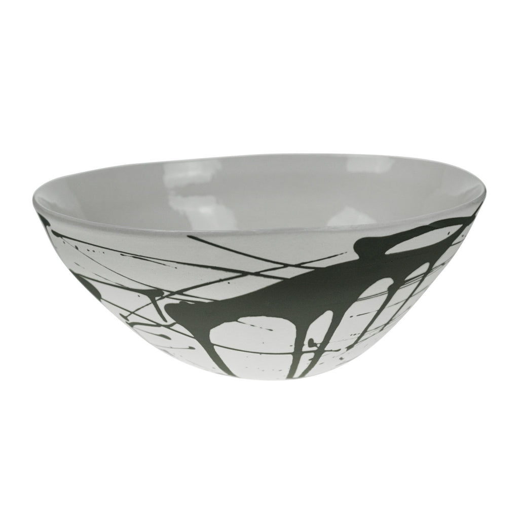 Salad Bowl in Grey (Scribble Collection)