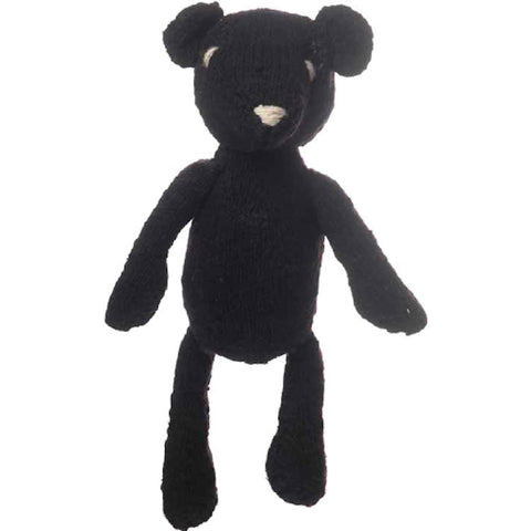 Ditsy Bear - Dark Brown