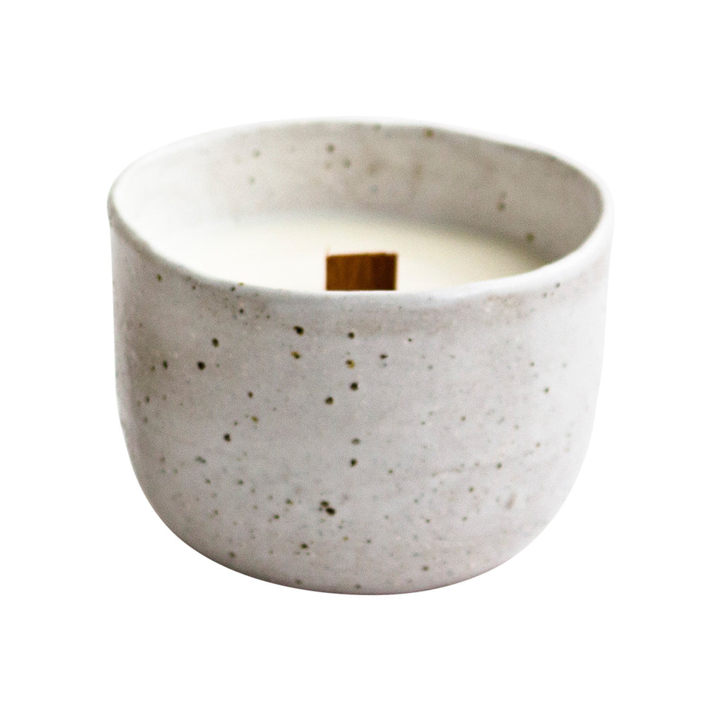 Rounded Candle - Fleck