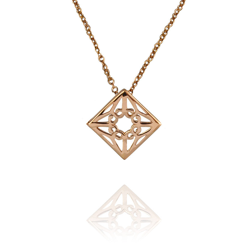 Lao Necklace - Rose Gold