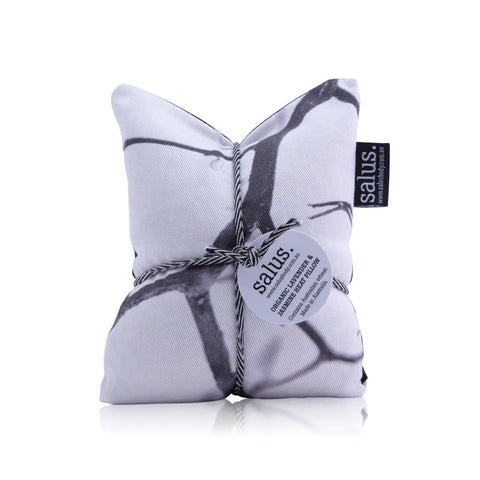 Organic Lavender & Jasmine Heat Pillow (Black & White)
