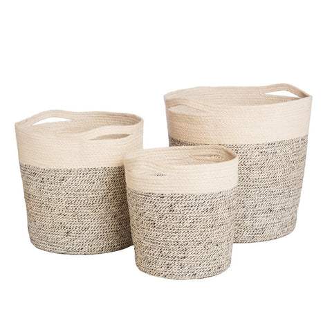 Oslo Bleach Basket (Set of 3)