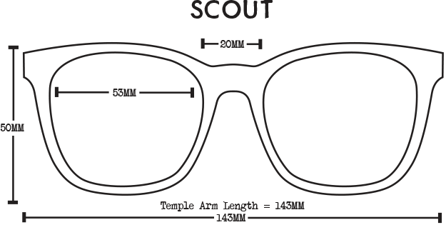 Scout Eco Sunglasses - Rootbeer Brown Polarised
