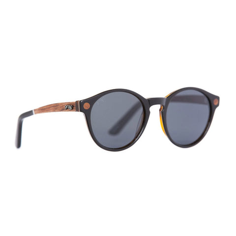 Hayburn Eco Sunglasses -  Black Polarised