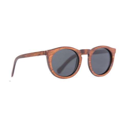 Hayburn Wood Sunglasses - Mahogany Polarised