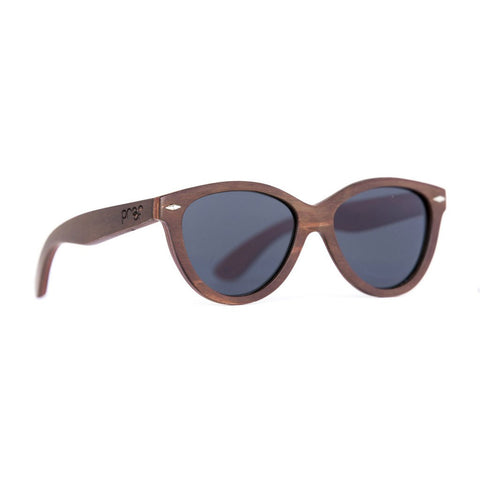 McCall Wood Sunglasses - Stained Bamboo Grey