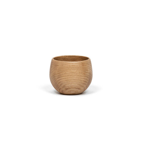 Small Round Cup - Chestnut