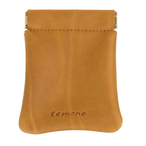 Snap Card Pouch - Mustard