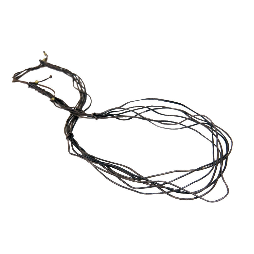 Vine Necklace - Black