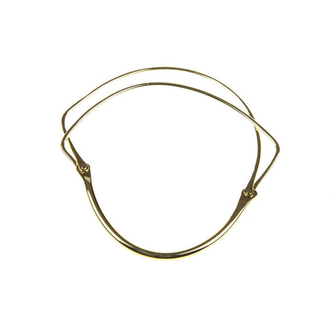 'Pure' Twin Gold Bangle no. 230