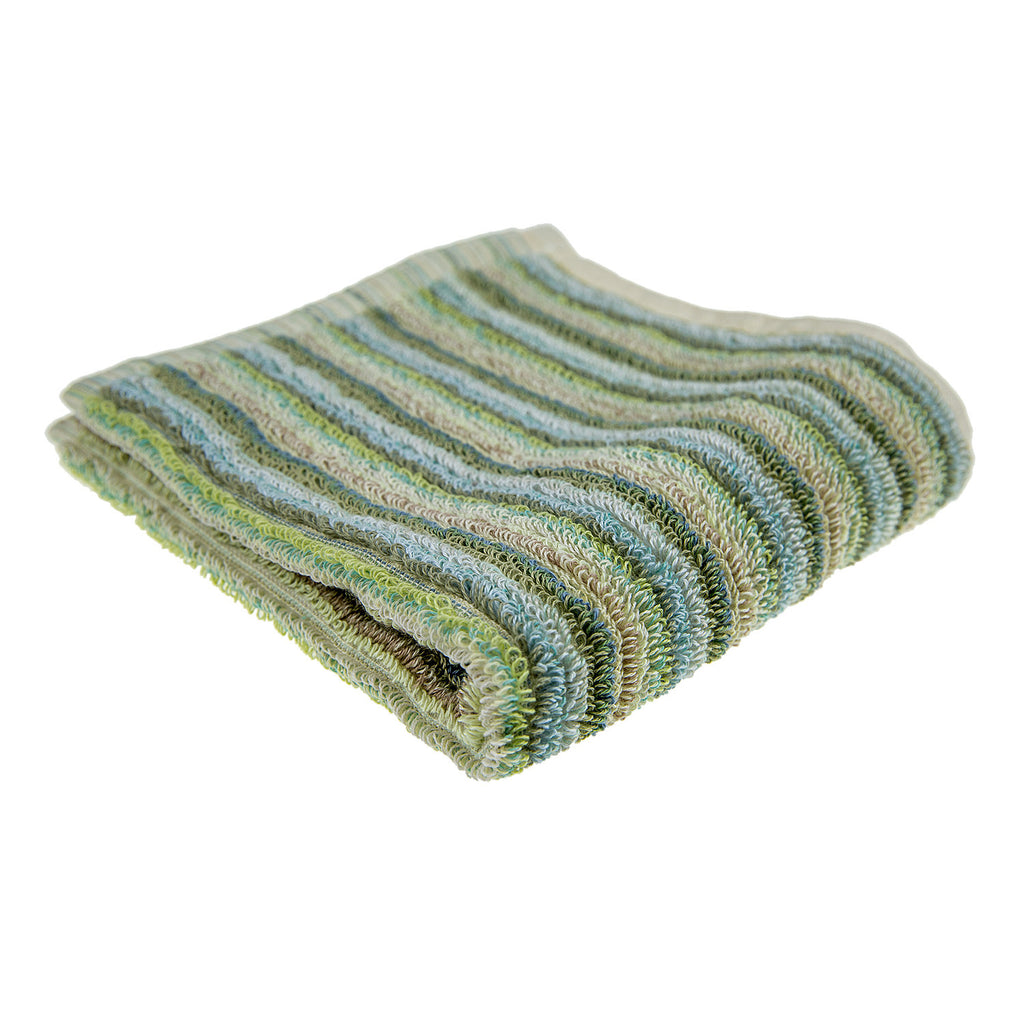Coastal Stripe Face Towel