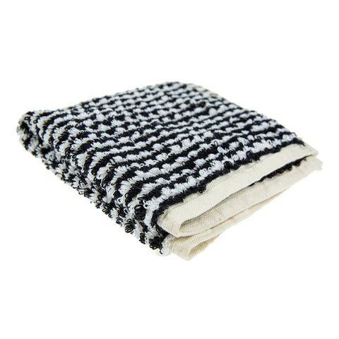 Monochrome Face Towel