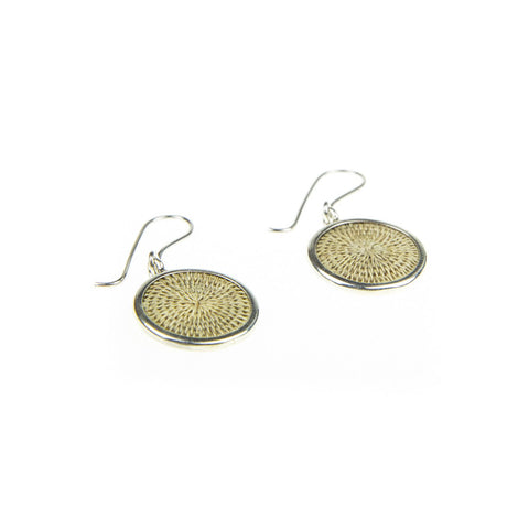Silver Earrings - Oyster