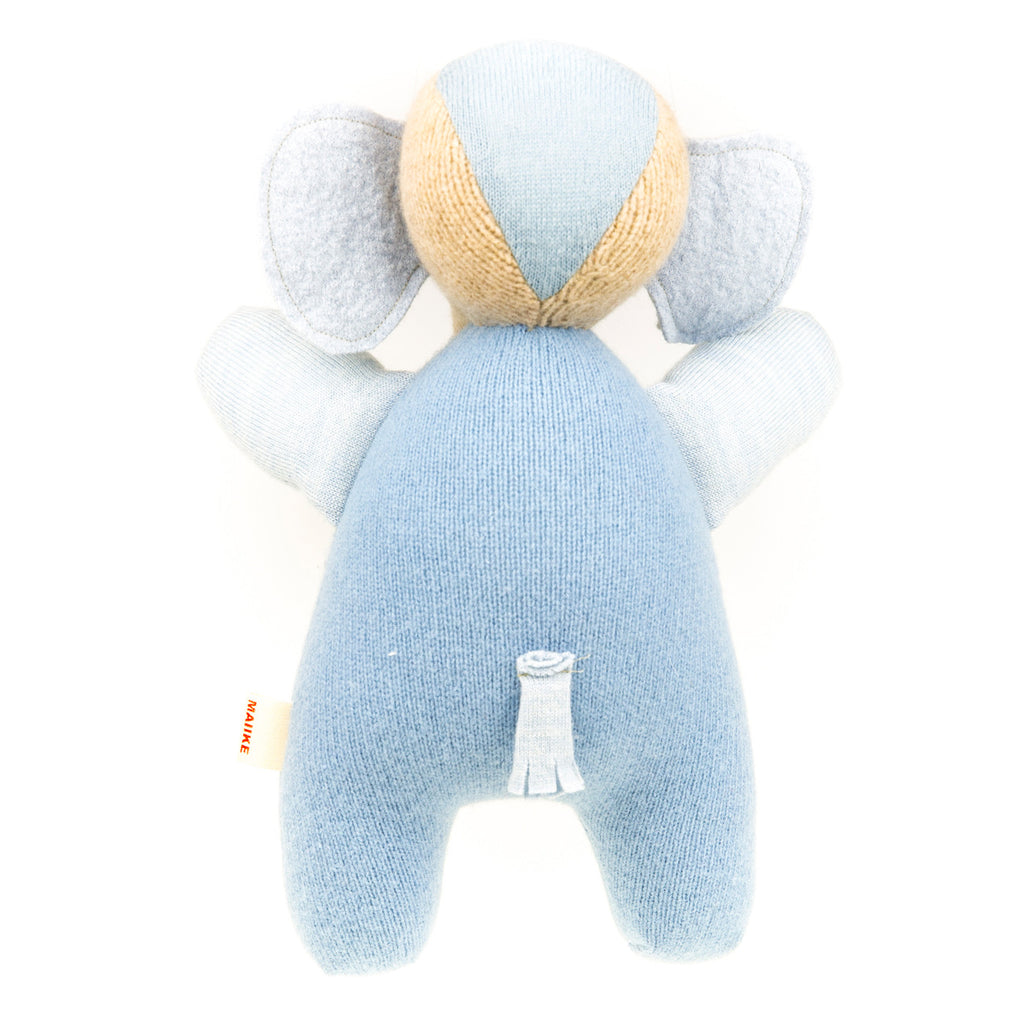 Elephant - Blue with Grey