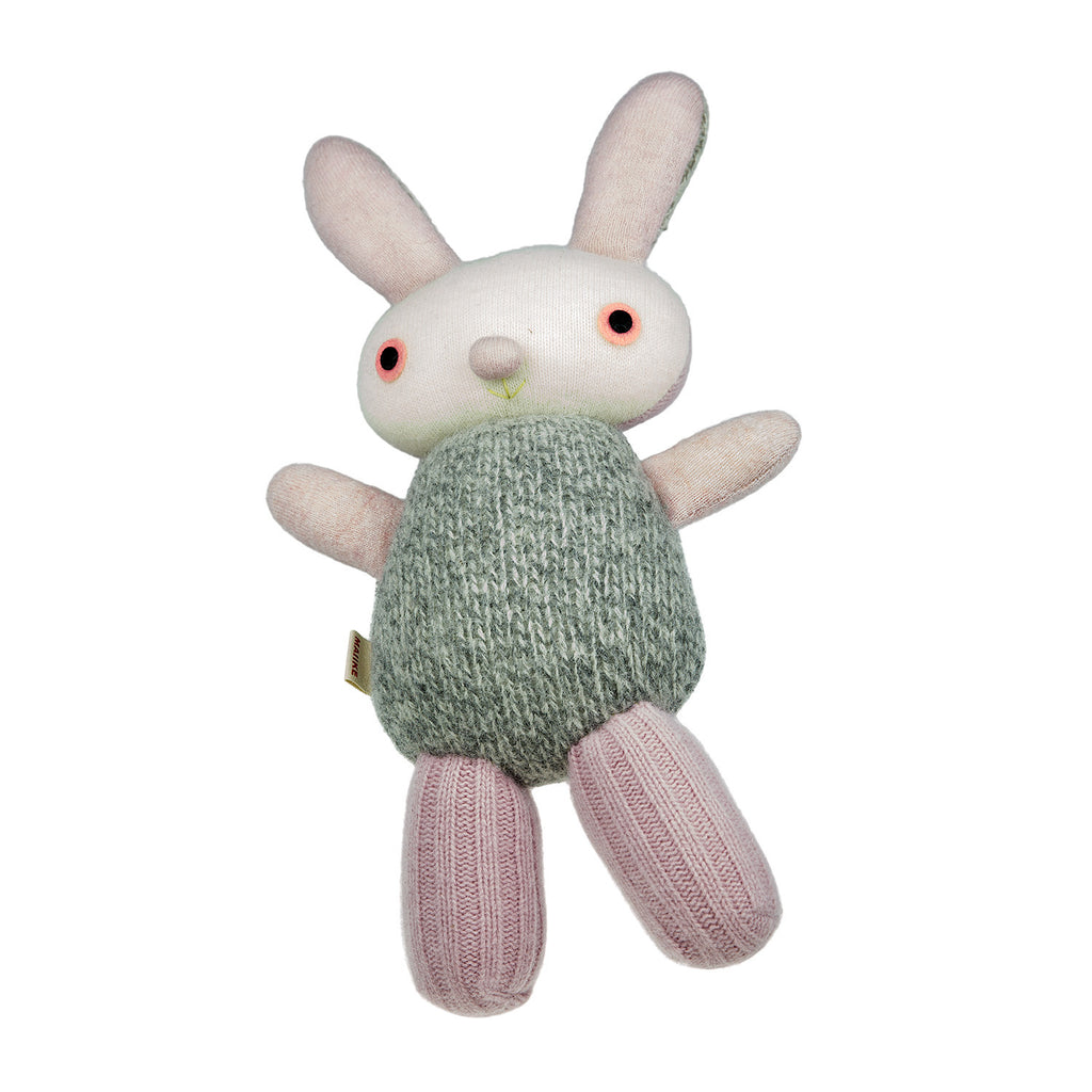 Bunny - Pink with Grey