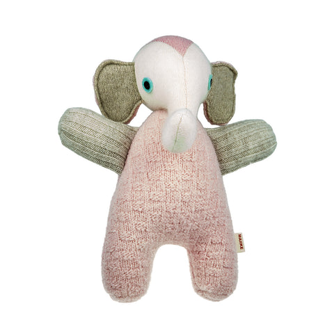 Elephant - Pink with Cream
