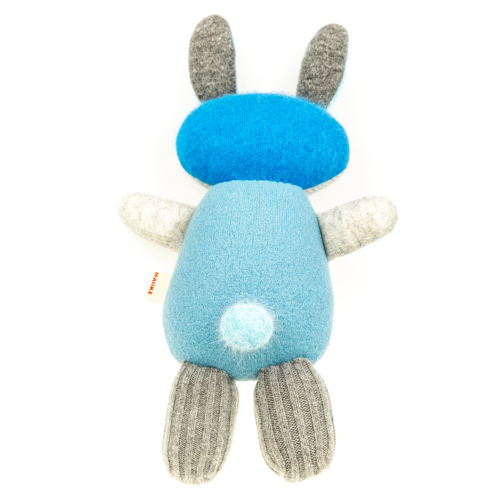 Bunny - Blue with Grey