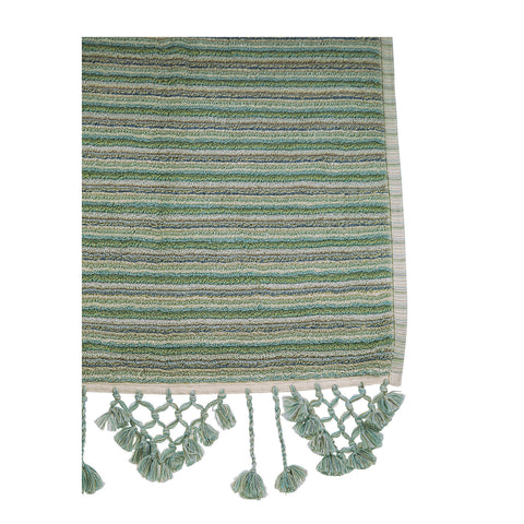 Coastal Stripe Bath Mat