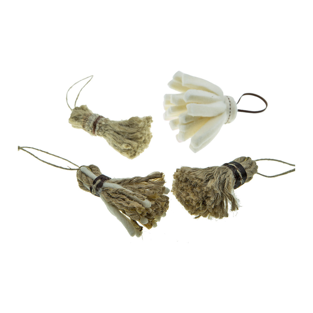 Small Tassels - Pack of 4