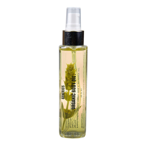 Organic Natural Body Oil
