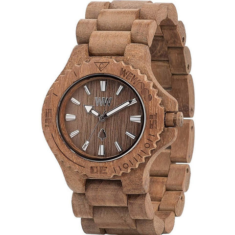 Date Wood Watch - Teak