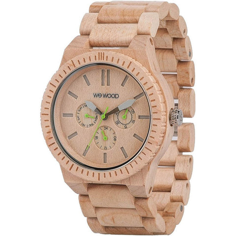 Kappa Wood Watch - Beige