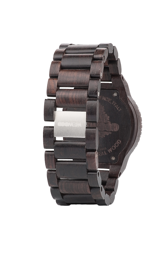 Kappa Wood Watch - Black