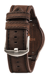 Leo Leather LTD Watch - Leather Chocolate