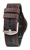 Leo Leather LTD Watch - Leather Terra Black