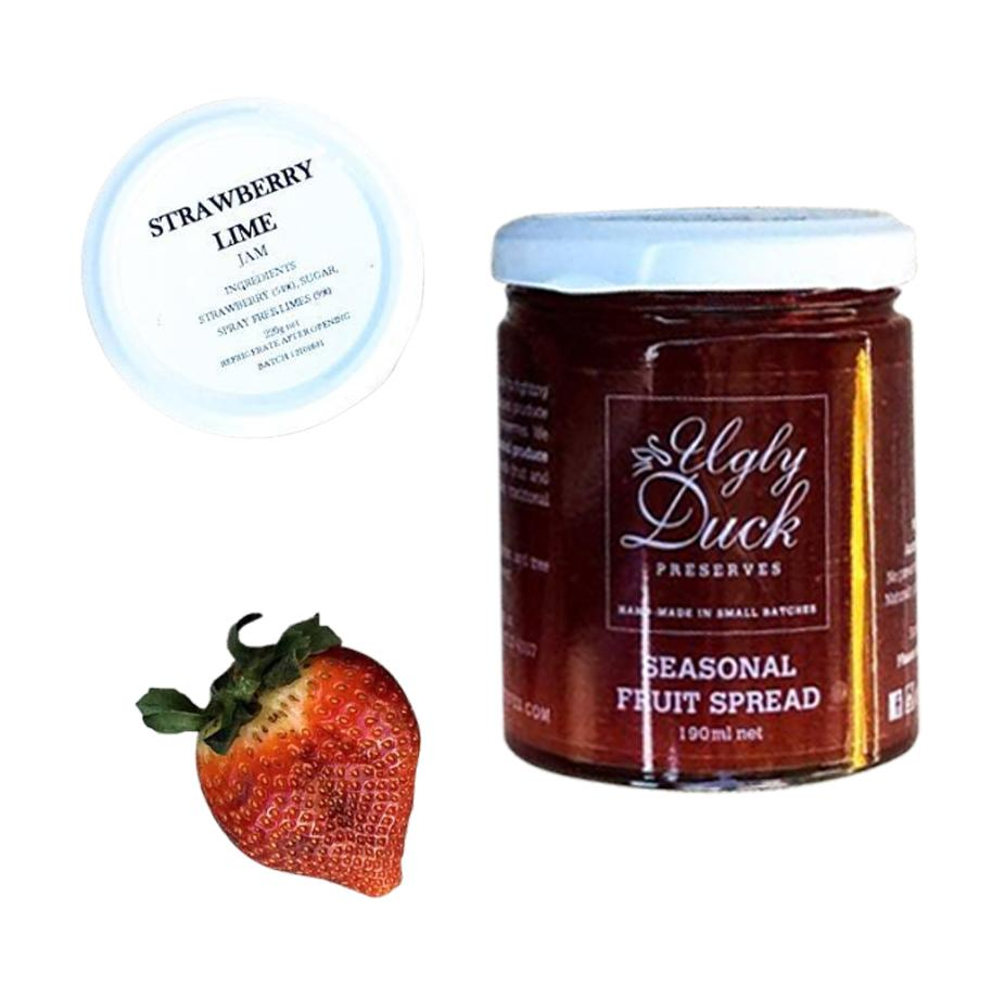 Strawberry Lime Fruit Spread