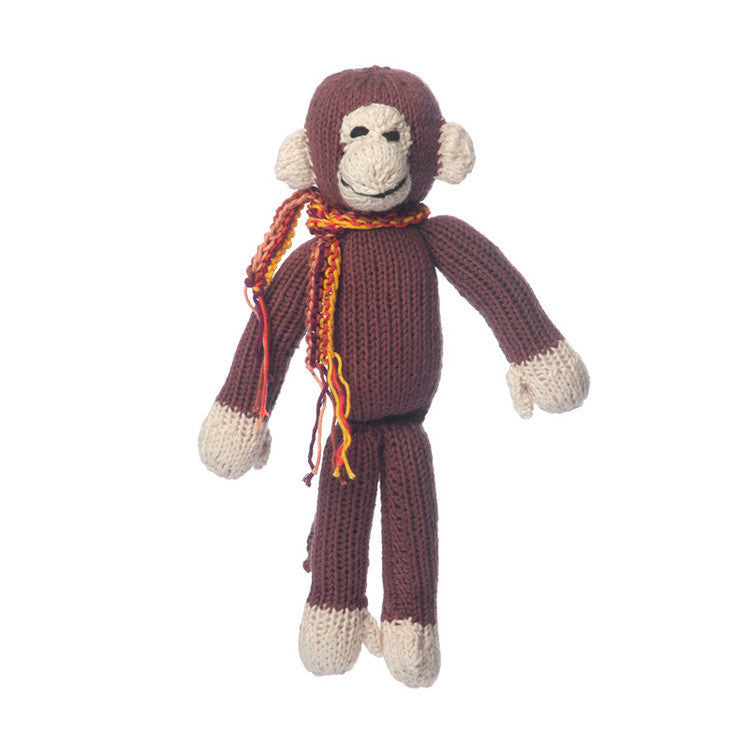 Organic Cotton Spider Monkey - Brown