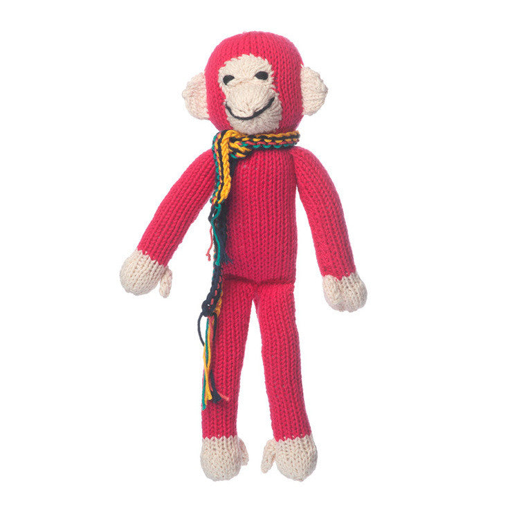 Organic Cotton Spider Monkey - Pink