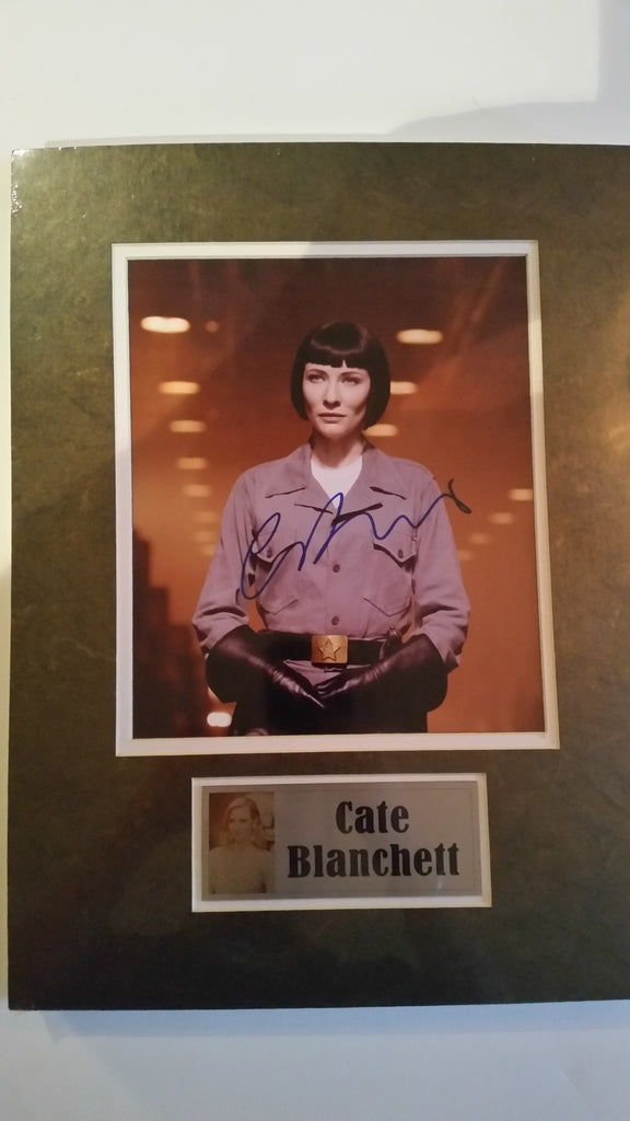 Signed photograph of Cate Blanchett as Irina Spalko