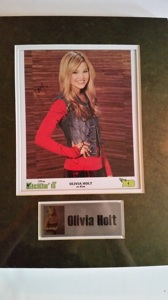 Signed photograph of Olivia Holt
