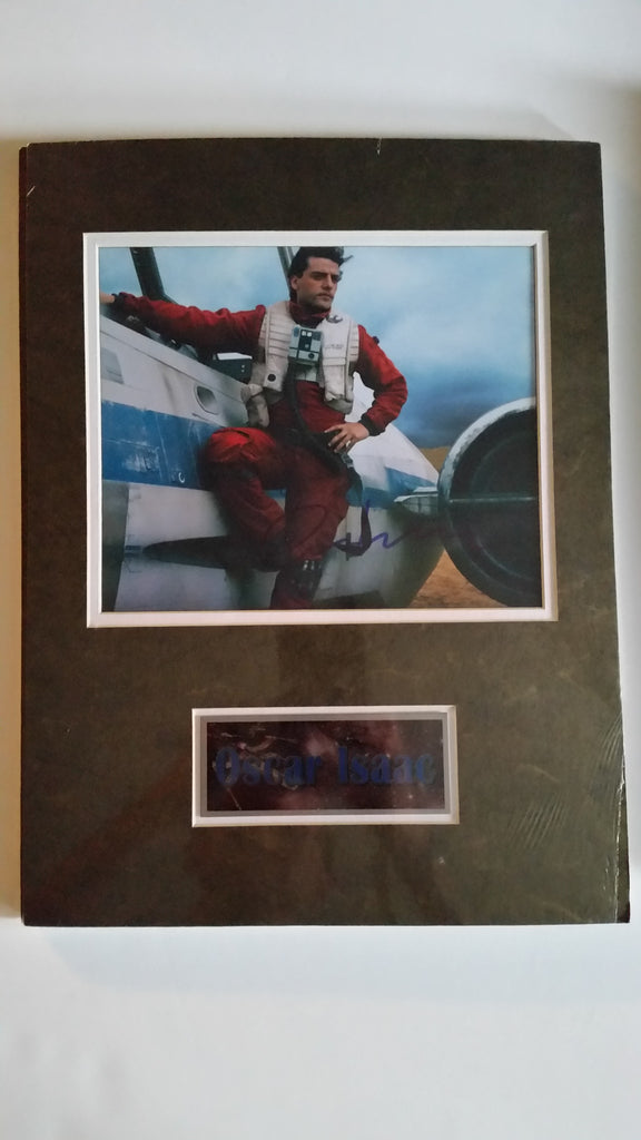 Signed photo of Oscar Isaac as Poe Dameron