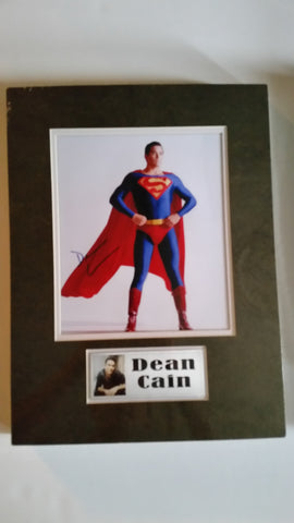 Signed photo of Dean Cain as Superman