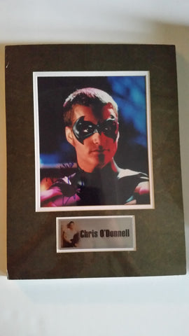 Signed photo of Chris O'Donnell as Robin