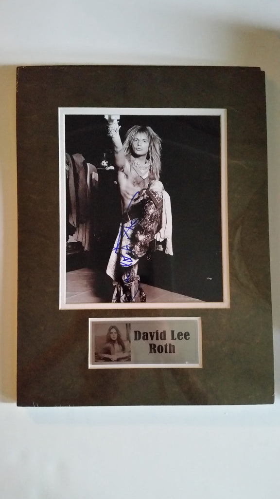 Signed photo of David Lee Roth