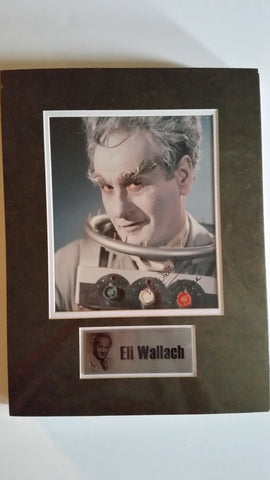 Signed photo of Eli Wallach as Mr. Freeze