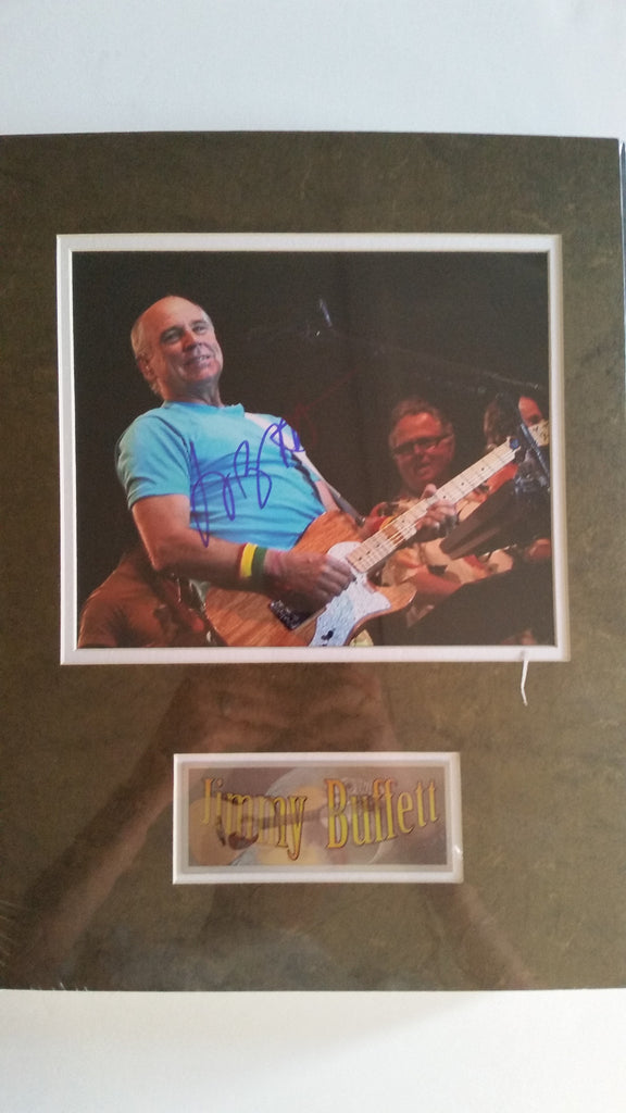 Signed photo of Jimmy Buffet