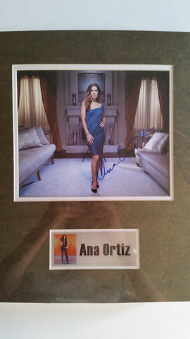 Signed photo of Ana Ortiz