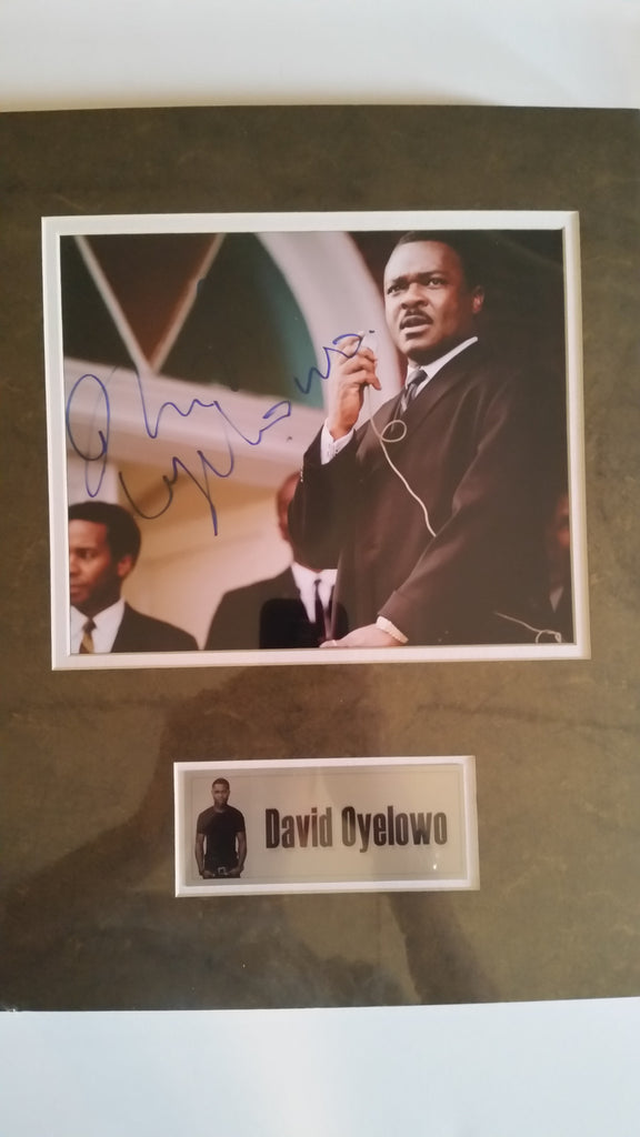 Signed photo of David Oyelowo as Martin Luther King Jr.