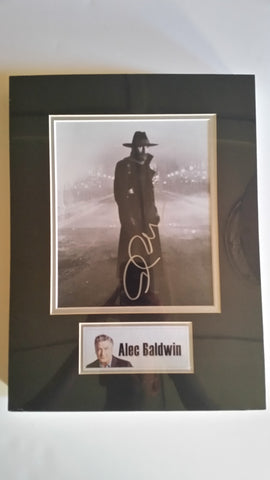 Signed photo of Alec Baldwin