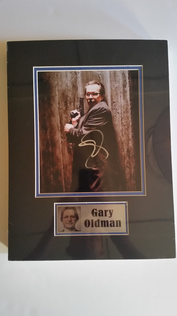 Signed photo of Gary Oldman