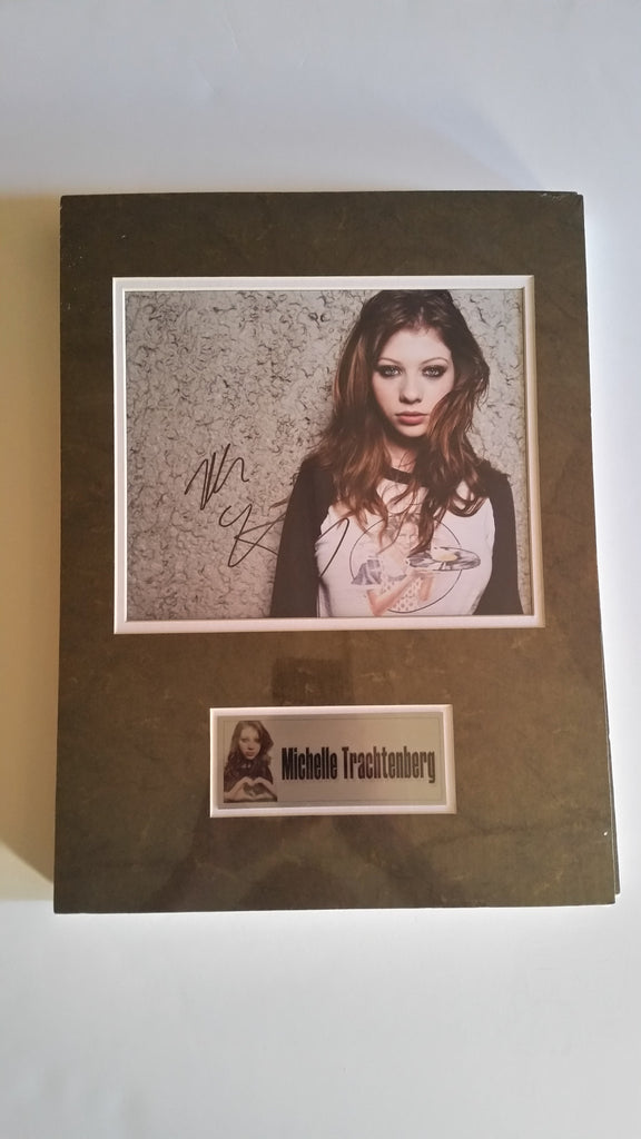 Signed photo of Michelle Trachtenberg