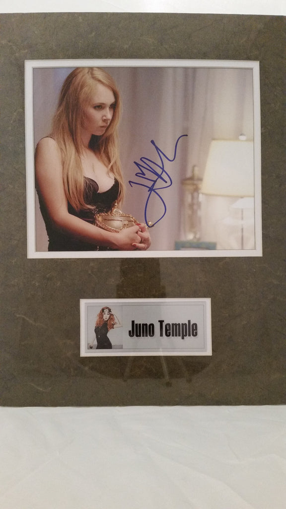 Signed photo of Juno Temple