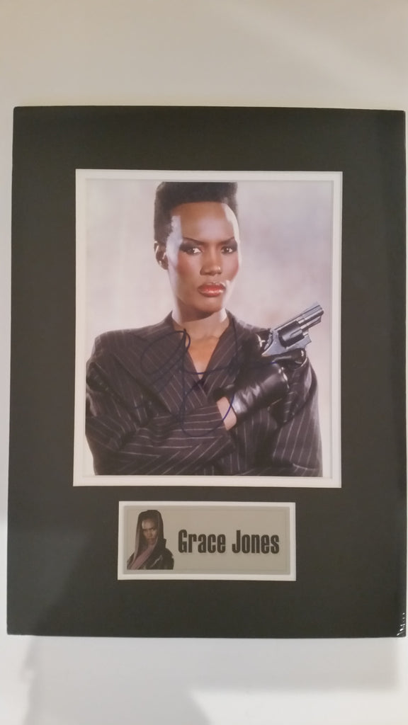 Signed photo of Grace Jones