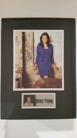 Signed photo of Bellamy Young
