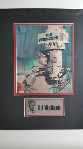 Signed photo of Eli Wallach